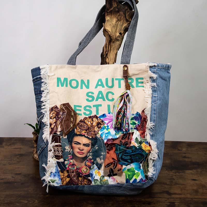 Sacs Recyclés – Frida Carré