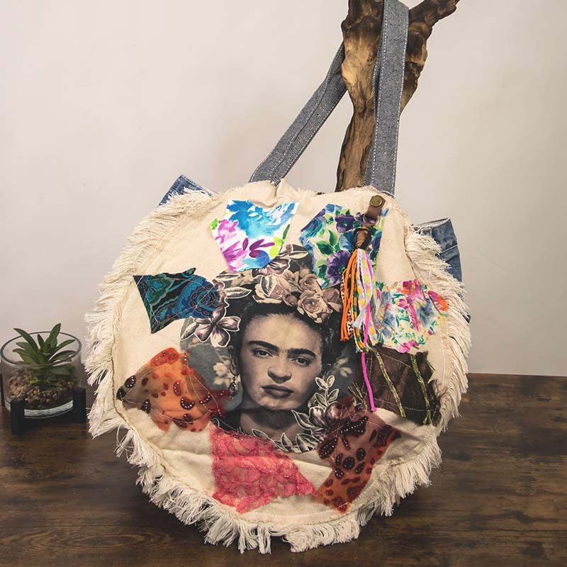 Sacs Recyclés – Frida Rond